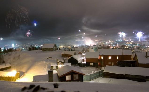 Røros, una de las mejores opciones invernales en Noruega