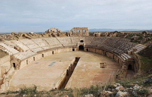 Uthina Roman Amphitheater