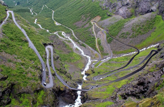 carretera más peligrosa de Noruega - Trollstigen