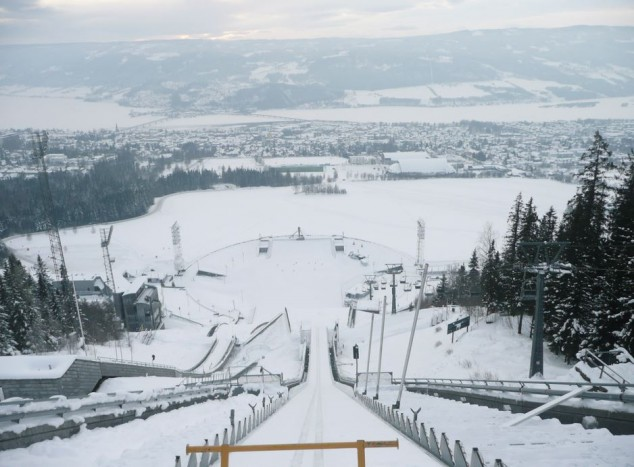 destino de nieve en Noruega