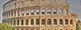 el famoso coliseo romano en roma