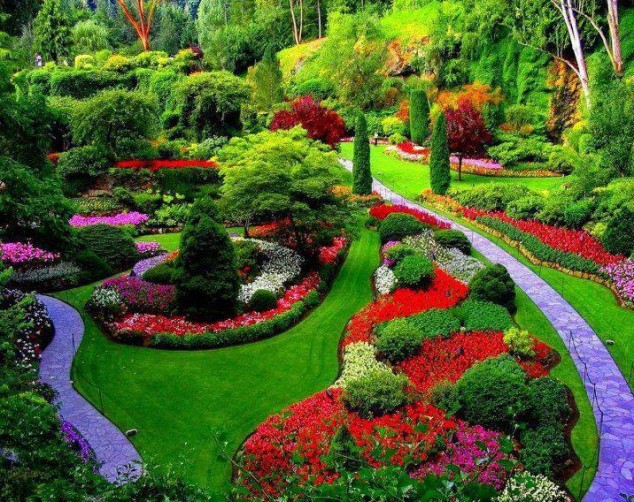 jardines más bellos