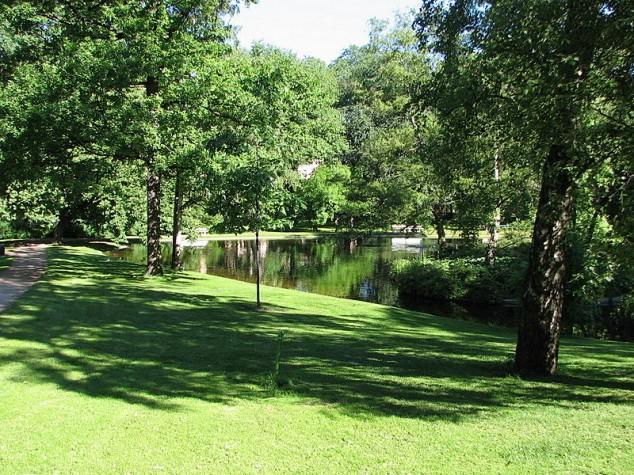 parque palacio oslo noruega