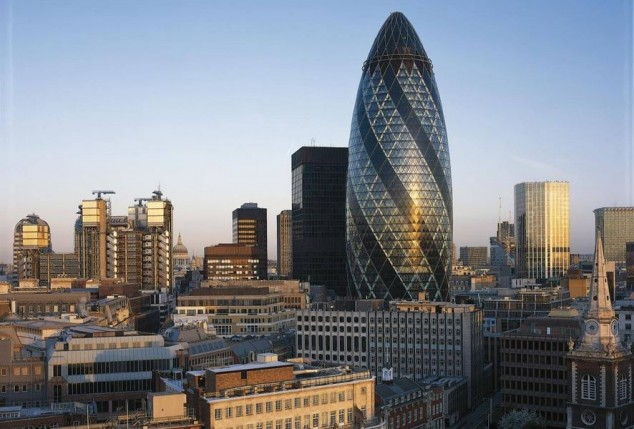 visitar The Gherkin en londres