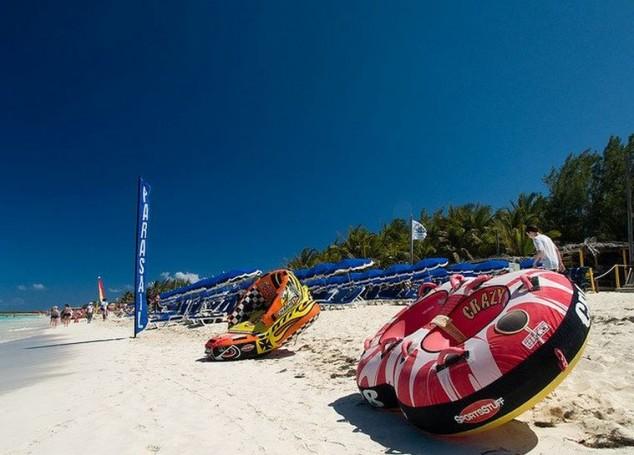 Playa Orient Isla de San Martin