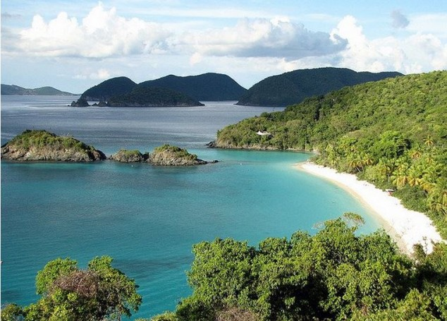 as mejores playas del caribe trunk bay