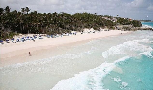 mejor playa de caribe crane