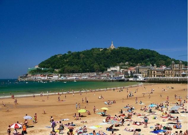 san sebastian destino turistico de playa