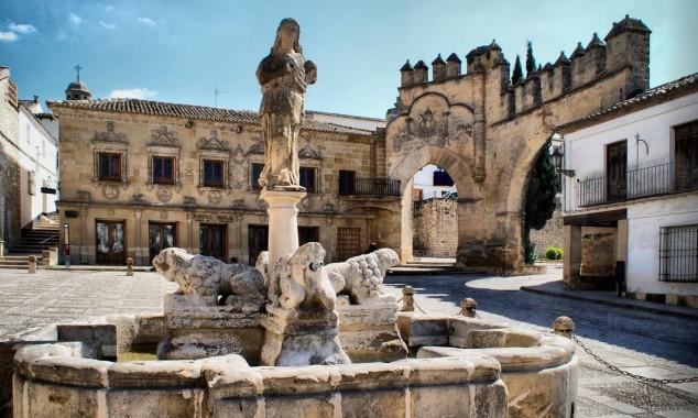 turismo baeza fuente de los leones