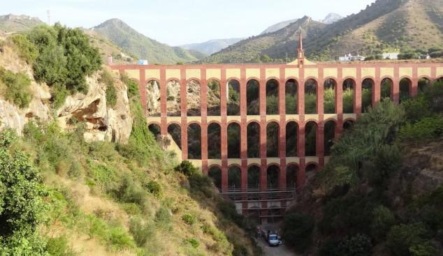 visitar Acueducto del Aguila nerja