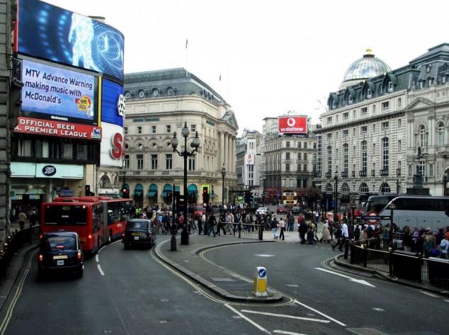 Picadilly Circus es una las plaza más conocida de Londres