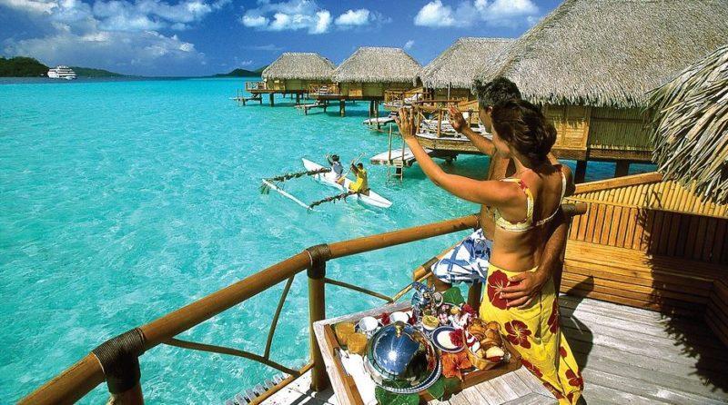 Bora Bora de vacaciones playa hoteles