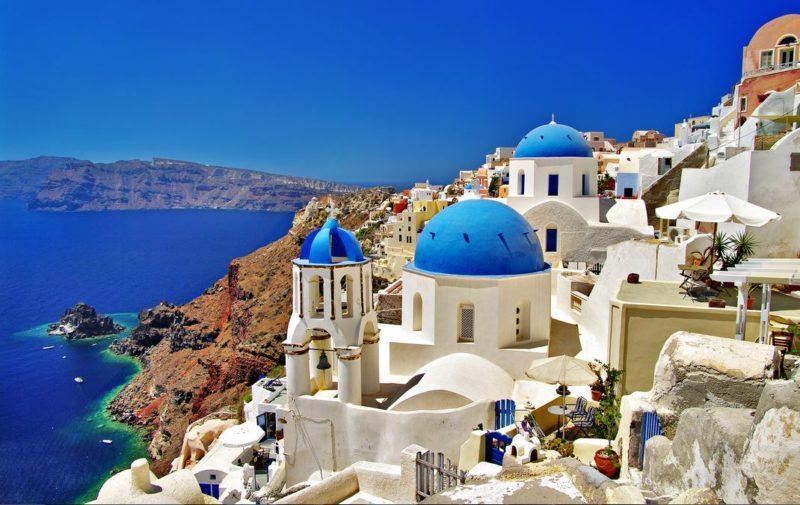 vacaciones islas playas isla santorini grecia