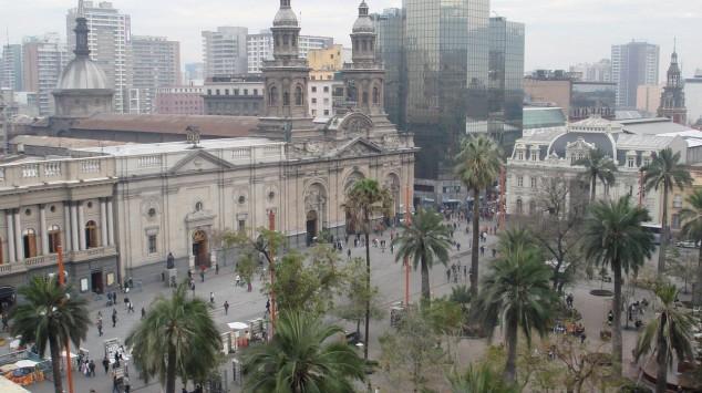 visitar plaza de armas en santiago de chile