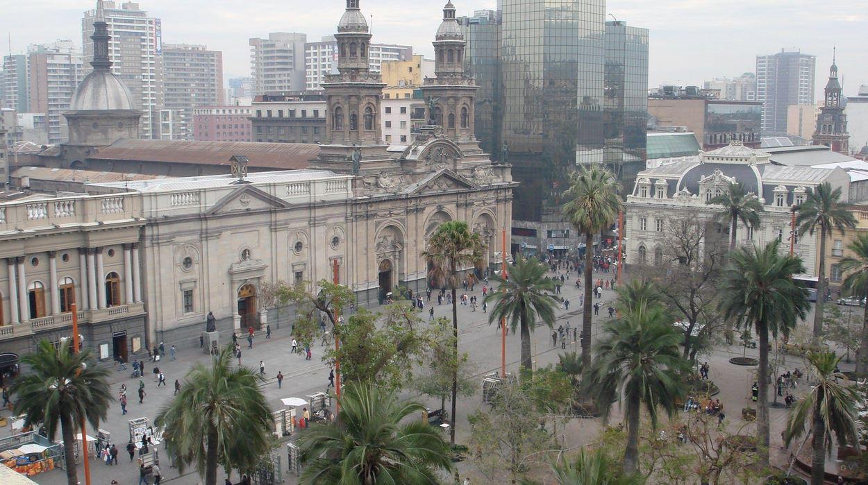Lugares tur sticos para visitar en santiago de chile for Papeles murales en santiago de chile