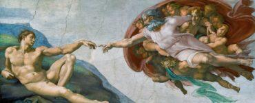 pinturas famosas la creacion de adan obra de arte en la capilla sixtina