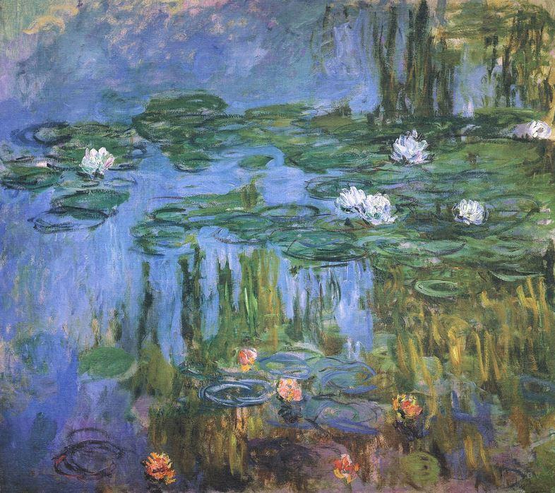 Lirios de agua o Nenúfares - Claude Monet