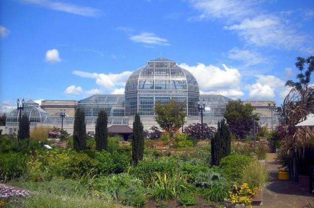 visitar el jardin botanico nacional washinton