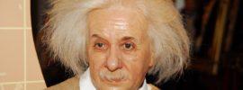 Albert Einstein Museo de Cera Madame Tussauds Londres