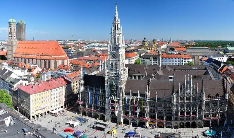 Marienplatz lugares turisticos para visitar en munich