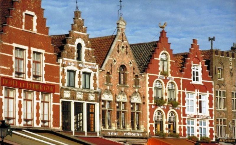 brujas ciudad medieval belgica