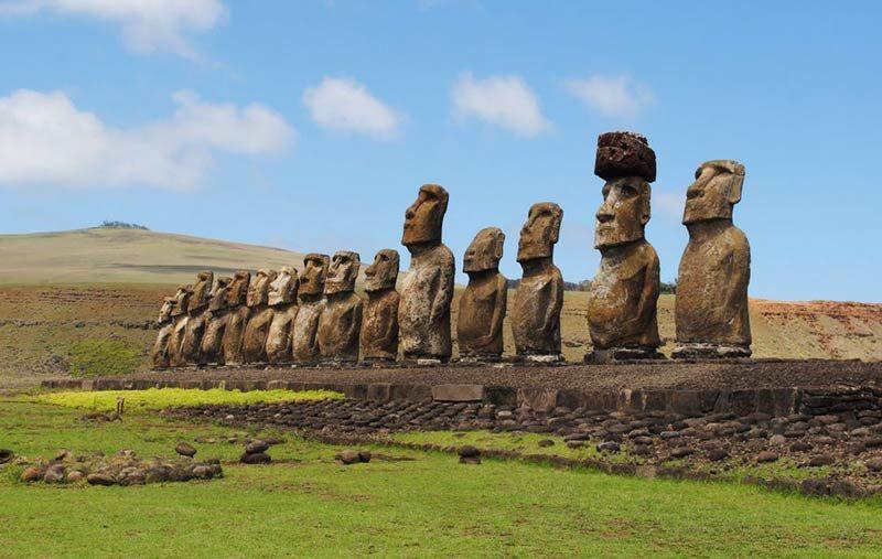 estatuas moai