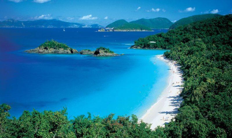 hermosa playa de bahía Trunk estados unidos america