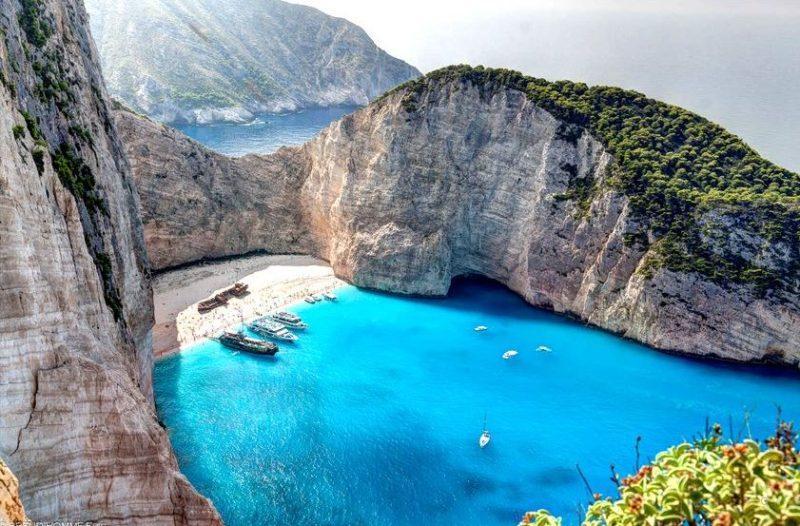 playa Novagio mejores playas de grecia