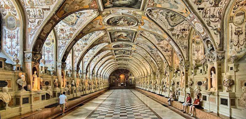 residencia de munich considerado uno de los mejores palacios - museo de toda Europa