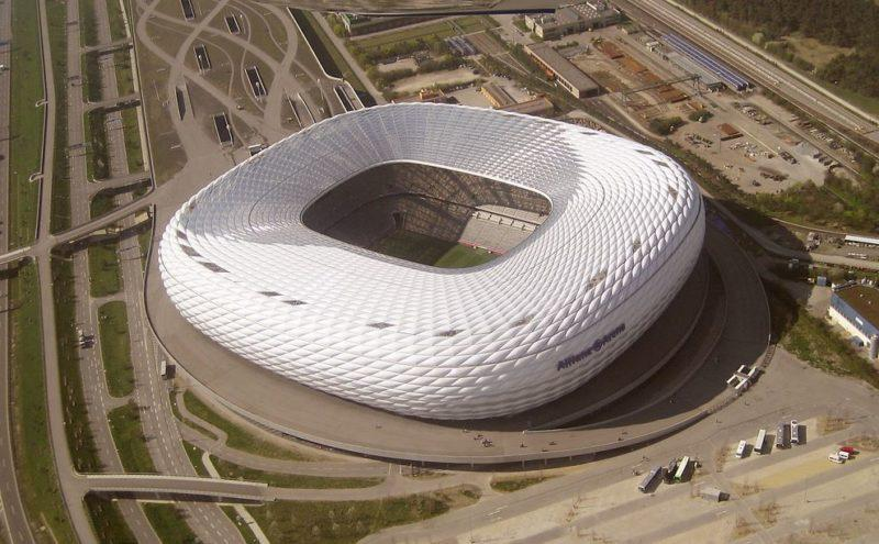 visitar el estadio de arena allianz en munich