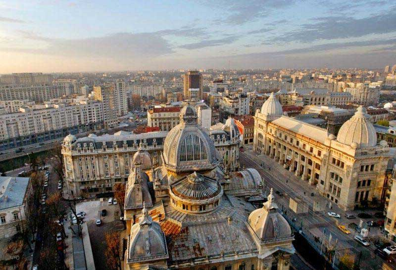 Bucarest la capital Rumana