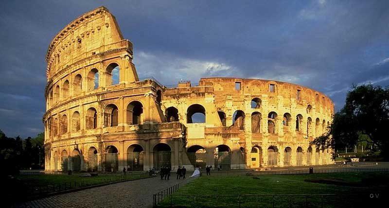 coliseo de roma lugares para visitar en italia turismo