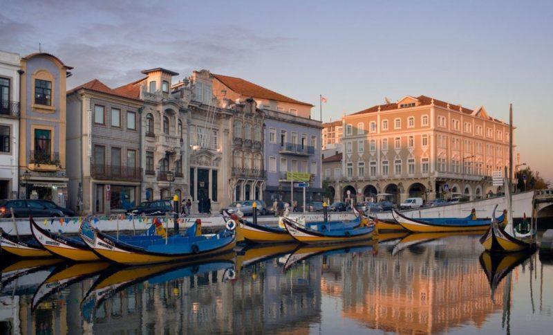 visitar aveiro en portugal