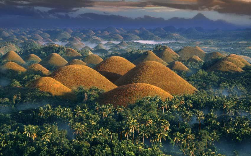 visitar montañas de chocolate filipinas