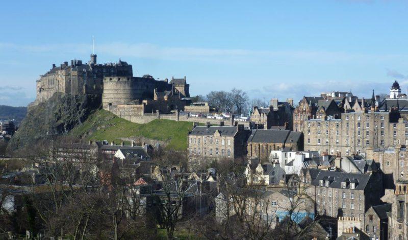 castillo de edinburgh que ver en escocia