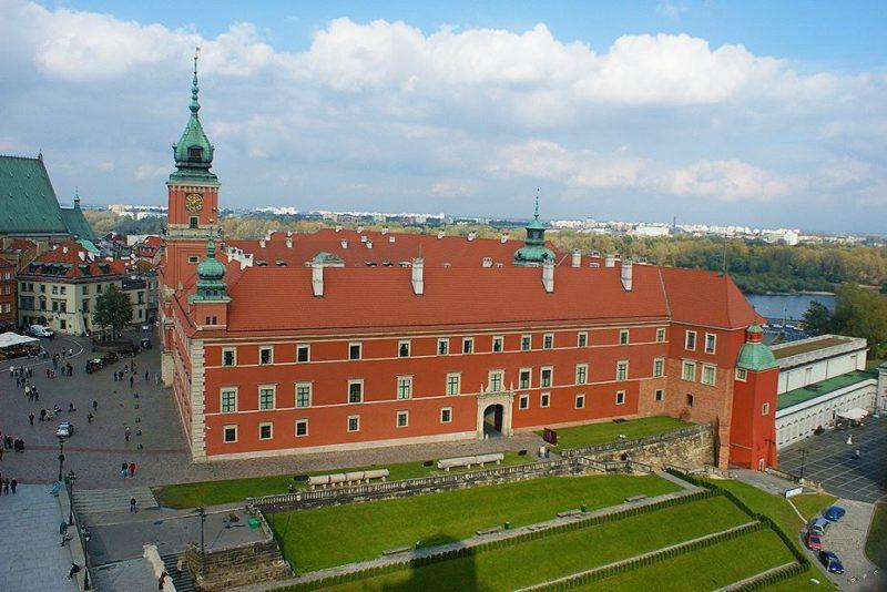 castillo real varsovia