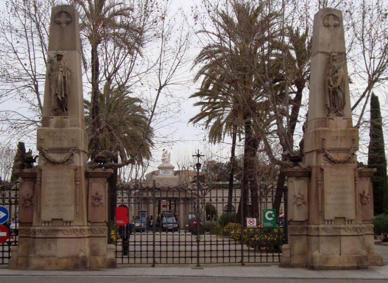 cementerio del poblenou barcelona