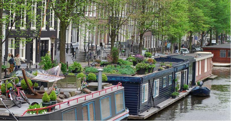 hauseboat amsterdam
