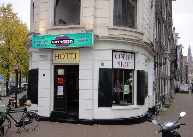 hotel y Coffee shop en Amsterdam
