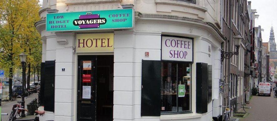 hotel y Coffee shop en Amsterdam