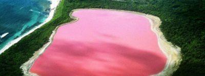 lago rosa hiller en australia