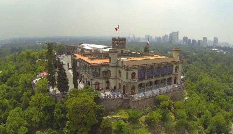 castillo de chapultepec en ciudad de mexico