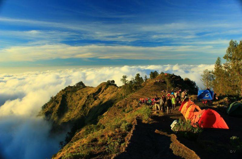 volcan rinjani viaje indonesia