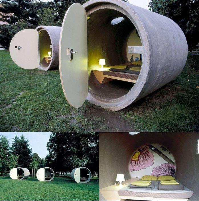 Survival Pod Hotel supervivencia