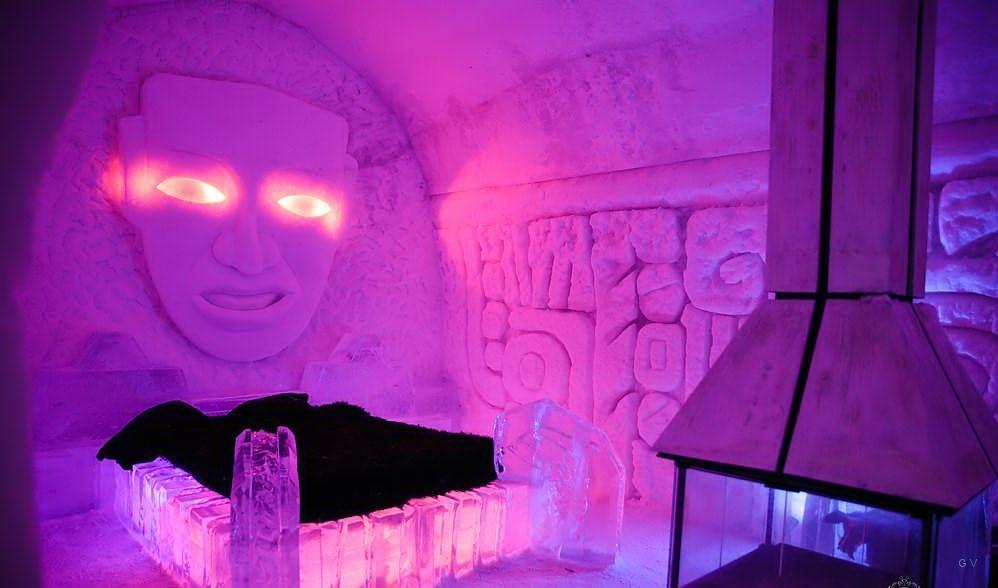 glace hotel tematico canada