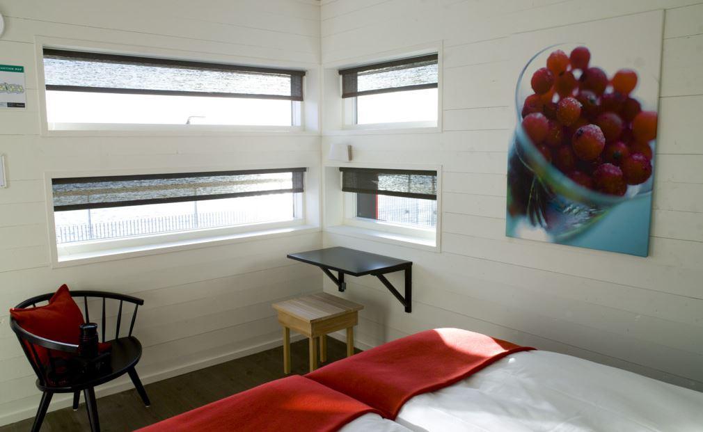 hotel flotante suecia salt and sill habitacion