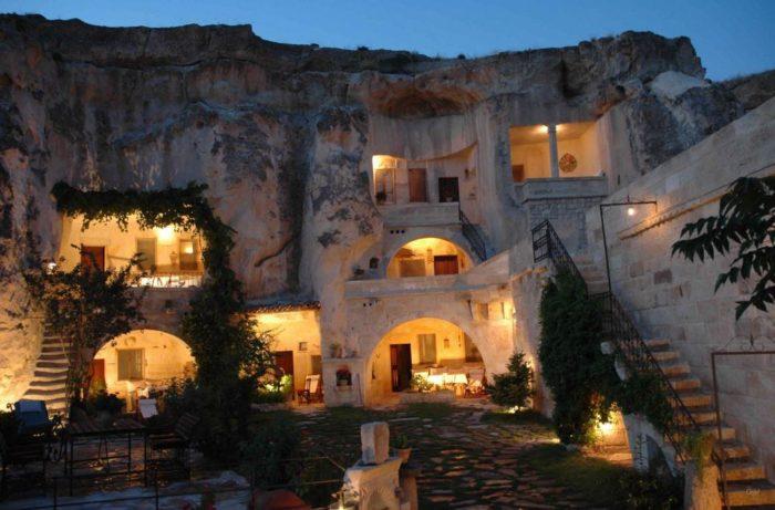 hoteles cuevas capadocia turquia