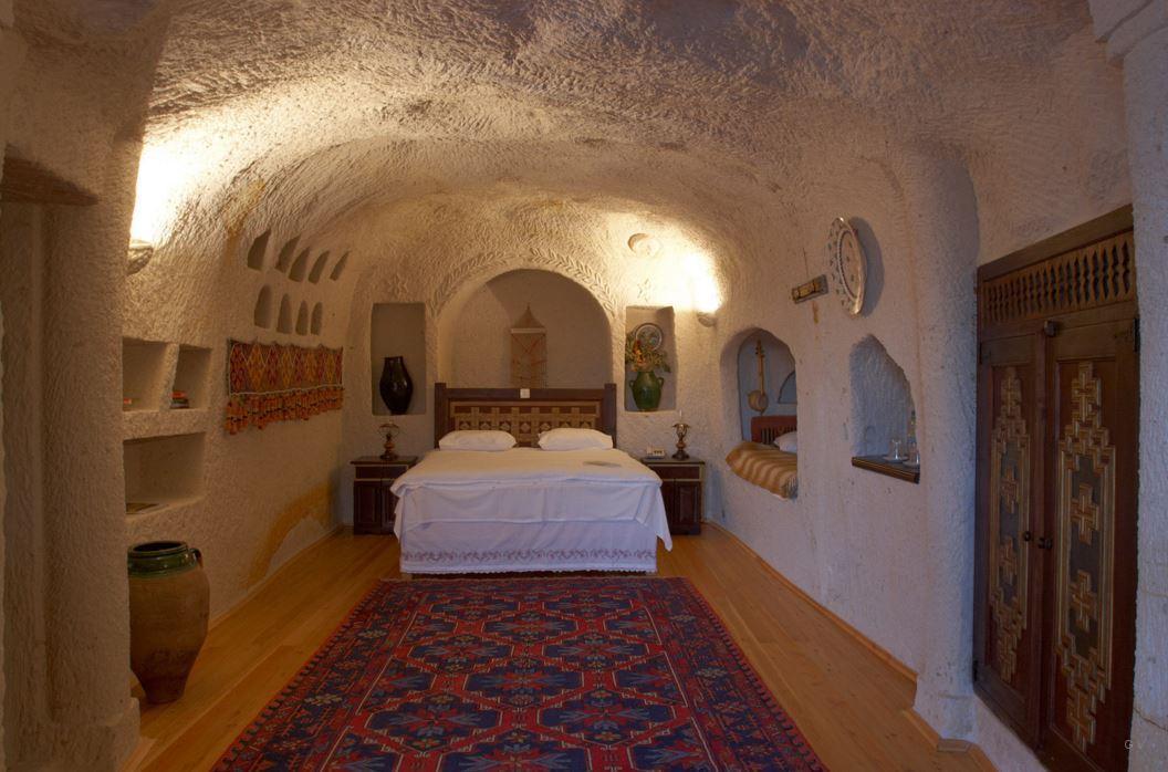 hoteles cuevas capadocia