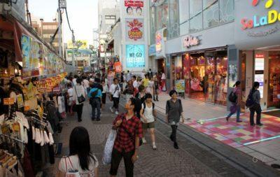 Harajuku es la zona de moda para los adolescentes en Tokio