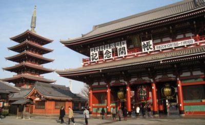 asakusa japon antiguo